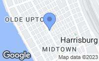 Map of Harrisburg, PA