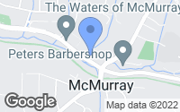 Map of McMurray, PA