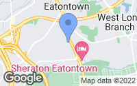 Map of Eatontown, NJ