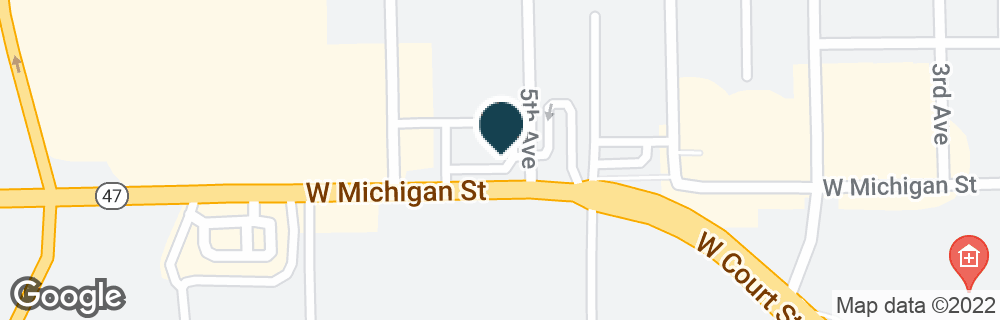 Google Map of1400 MICHIGAN ST
