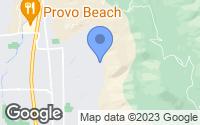 Map of Provo, UT