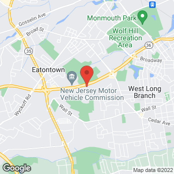 Map of Taco Bell at 306 Highway 36, West Long Branch, NJ 07764