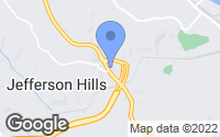 Map of Jefferson Hills, PA