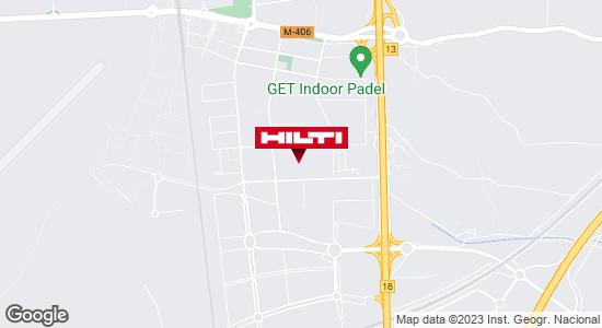 Obtener indicaciones para Tienda Hilti - Madrid (Getafe)