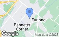 Map of Furlong, PA