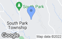 Map of South Park Township, PA