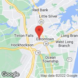 Eatontown Roads Department on the map
