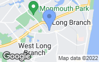 Map of West Long Branch, NJ
