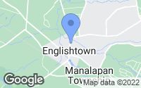 Map of Englishtown, NJ