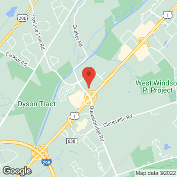 Map of buybuy BABY at 601 Nassau Park Boulevard, Princeton, NJ 08540