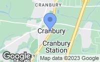 Map of Cranbury, NJ