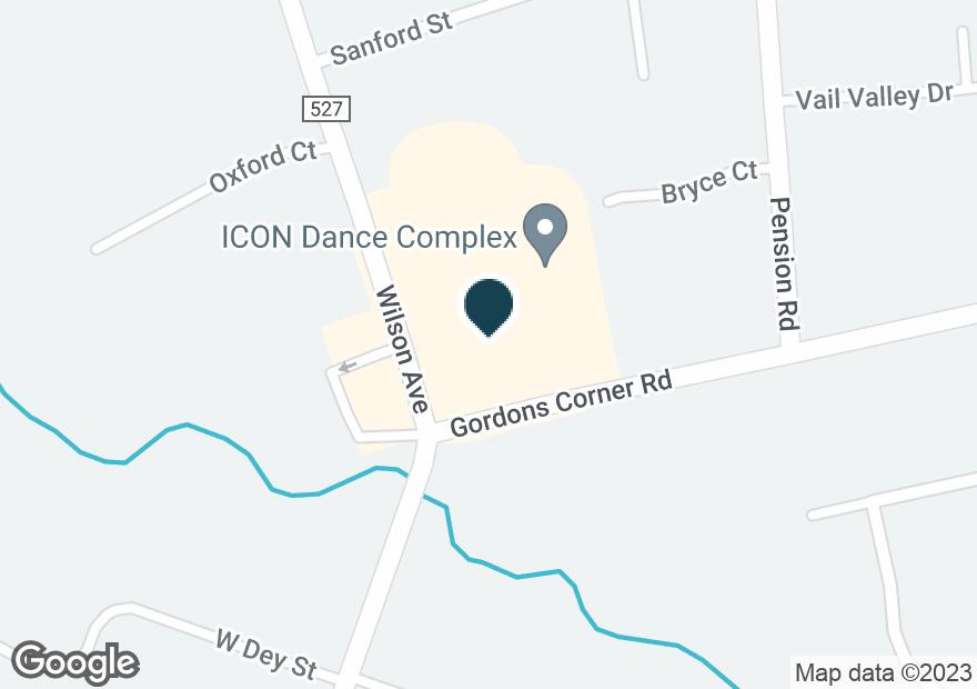Google Map of2 GORDONS CORNER RD