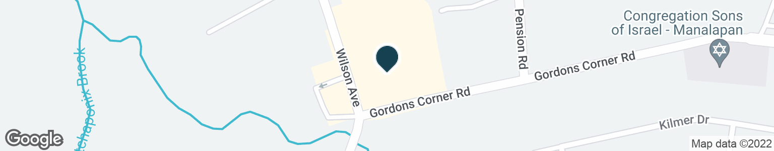 Google Map of2 GORDONS CORNER RD