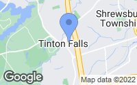 Map of Tinton Falls, NJ