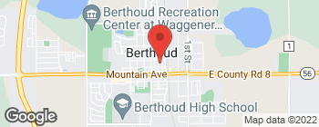 Map of 622 N 4th St in Berthoud