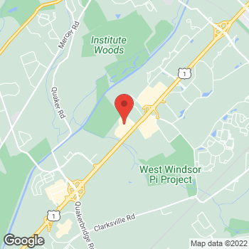 Map of Hair Cuttery at 3495 Us Highway 1, Princeton, NJ 08540
