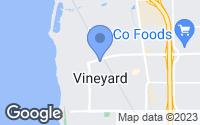 Map of Vineyard, UT