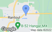 Map of Rantoul, IL