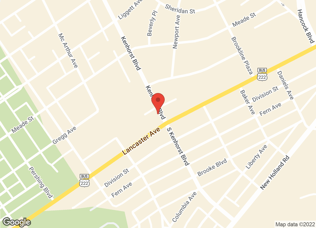 Google Map of VCA Detwiler Animal Hospital