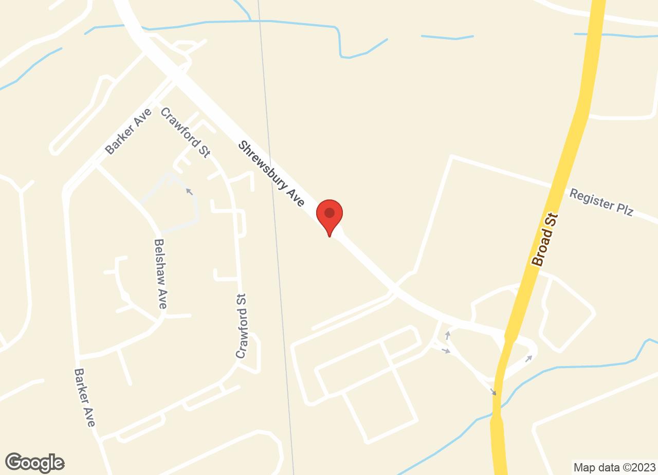 Google Map of Shrewsbury Animal Hospital