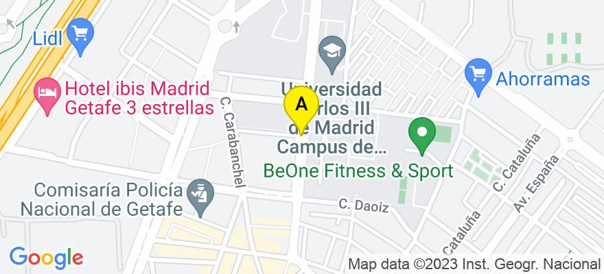 situacion en el mapa de . Direccion: Calle, 48080 Madrid. Madrid
