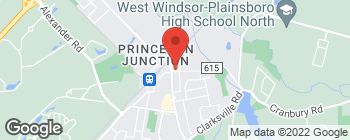 Map of 33 Princeton Hightstown Rd in Princeton Junction