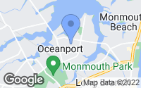 Map of Oceanport, NJ