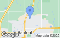 Map of Rantoul, IL