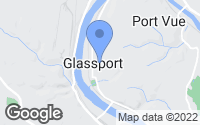 Map of Glassport, PA