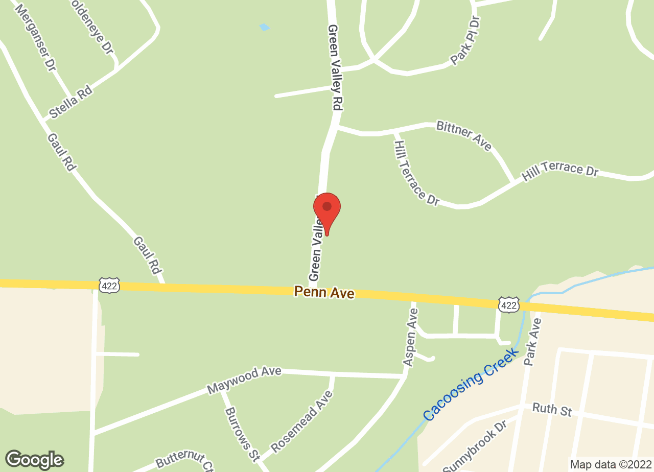 Google Map of VCA Sinking Spring Animal Hospital