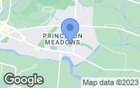 Map of Princeton Meadows, NJ