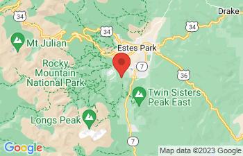 Map of Estes Park