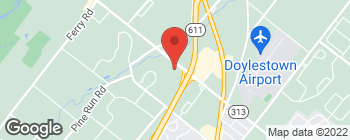 Map of 252 W Swamp Rd in Doylestown