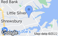 Map of Little Silver, NJ