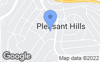 Map of Pleasant Hills, PA