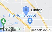 Map of Lindon, UT