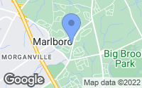 Map of Marlboro Township, NJ