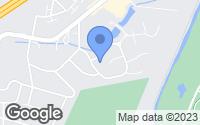 Map of Bridgeville, PA