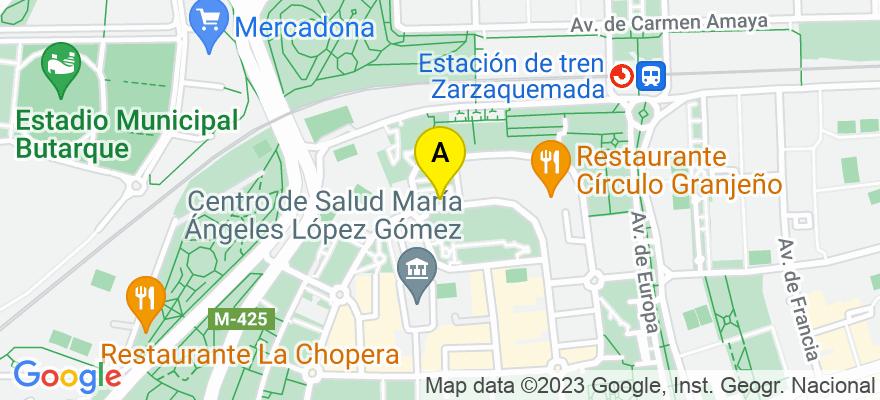situacion en el mapa de . Direccion: Cl Monegros 31 1B, 28915 Leganés. Madrid