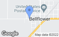 Map of Bellflower, IL