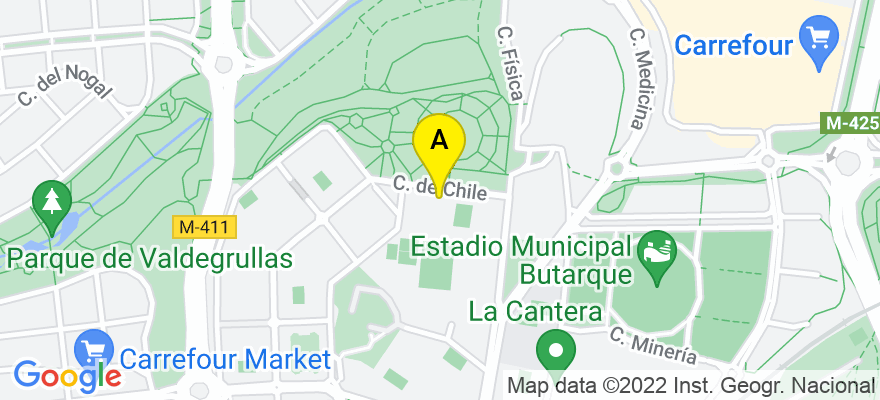situacion en el mapa de . Direccion: CHILE, 13 (LOCAL), 28850 Madrid. Madrid