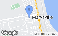 Map of Marysville, PA