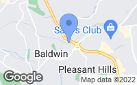 Map of Baldwin, PA