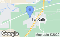 Map of La Salle, CO