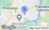 Map of Princeton, NJ