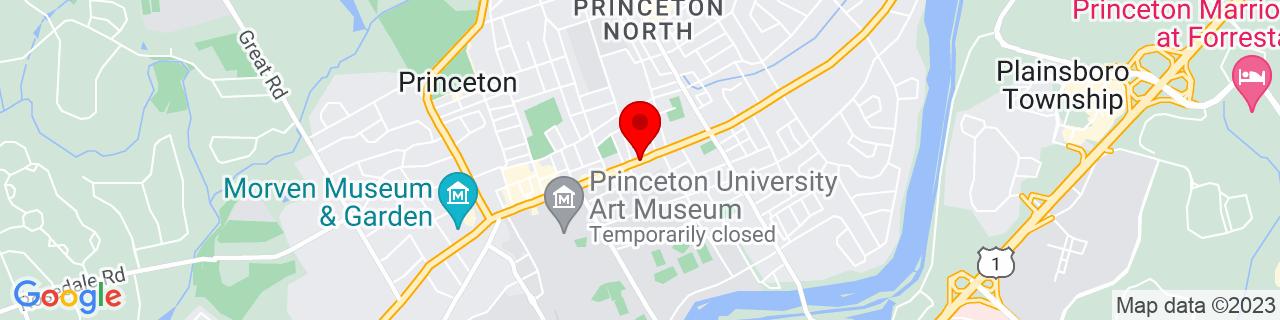 Google Map of 40.3521181, -74.651577