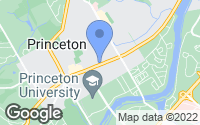 Map of Princeton, NJ