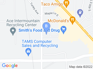 Map of Timpanogos Animal Hospital Dog Boarding options in Pleasant Grove | Boarding