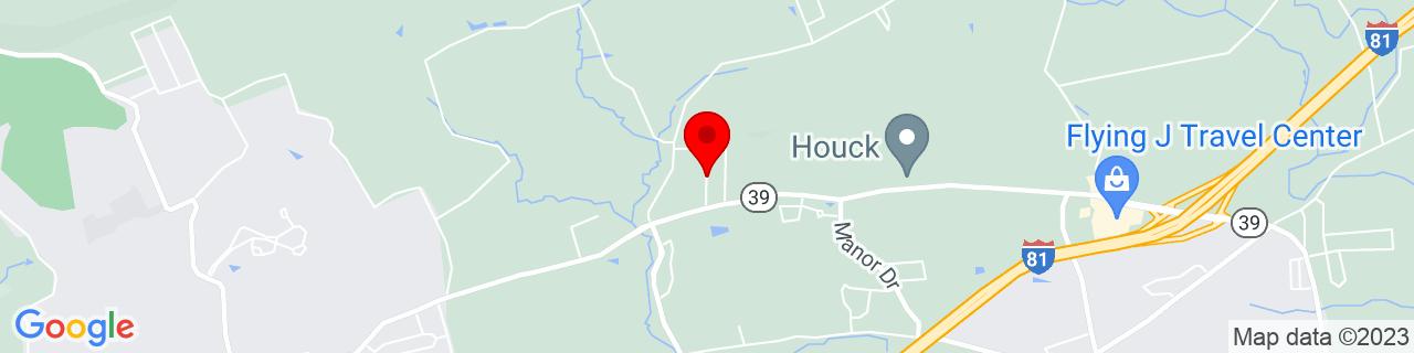 Google Map of 40.354873, -76.7587564