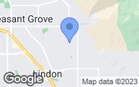 Map of Pleasant Grove, UT